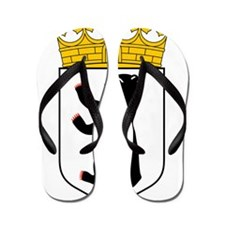 Berlin Wappen Flip Flops