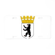 Berlin Wappen Aluminum License Plate