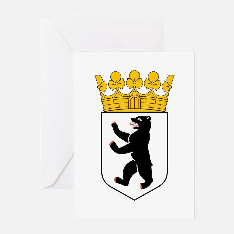 Berlin Wappen Greeting Card
