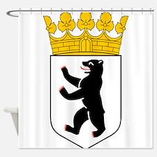 Berlin Wappen Shower Curtain