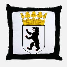 Berlin Wappen Throw Pillow