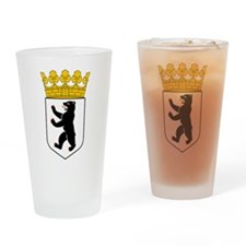 Berlin Wappen Drinking Glass