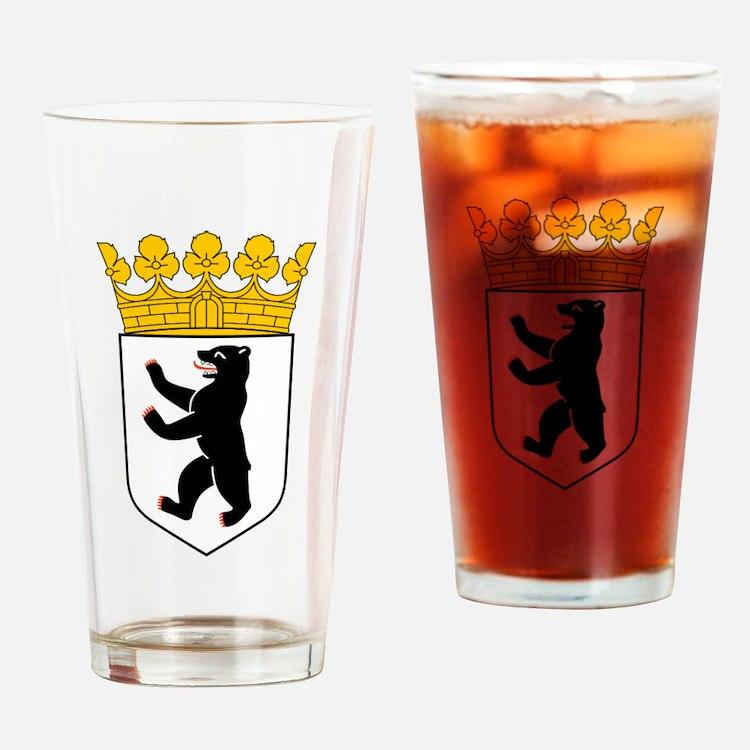Berlin Wappen Drinking Glass