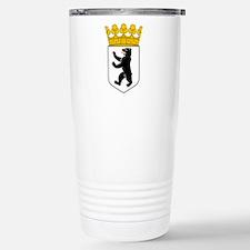 Berlin Wappen Stainless Steel Travel Mug