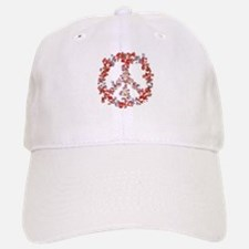 Attraction Flower Peace - Simple Baseball Baseball Cap