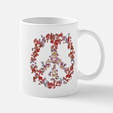 Attraction Flower Peace - Simple Mug