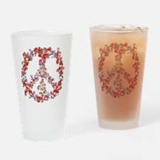 Attraction Flower Peace - Simple Drinking Glass