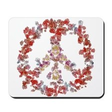 Attraction Flower Peace - Simple Mousepad