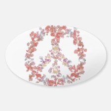Attraction Flower Peace - Simple Decal