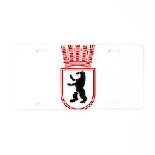 Berlin Wappen 1935 Ostberlin Aluminum License Plat