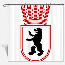 Berlin Wappen 1935 Ostberlin Shower Curtain