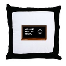 Welcome to school Throw Pillow