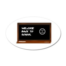 Welcome to school Wall Decal