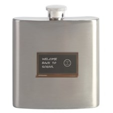 Welcome to school Flask