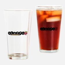 School apple Drinking Glass