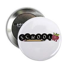 "School apple 2.25"" Button (10 pack)"