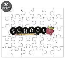 School apple Puzzle
