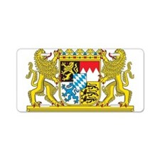 Landeswappen Bayern Aluminum License Plate