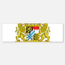 Landeswappen Bayern Bumper Bumper Sticker