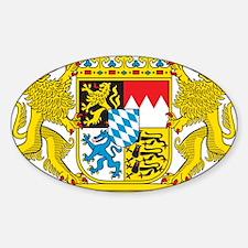 Landeswappen Bayern Sticker (Oval)