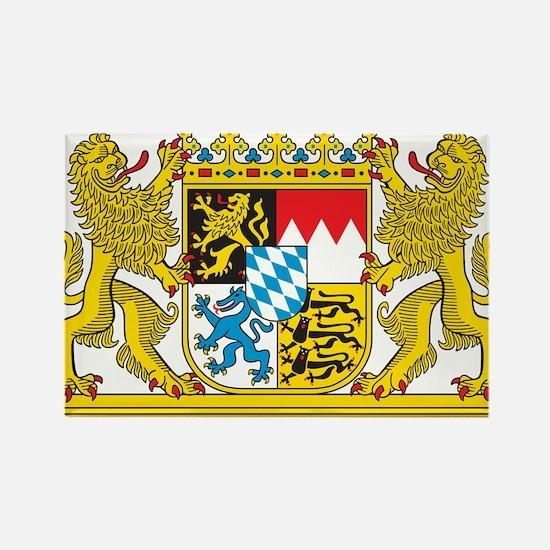 Landeswappen Bayern Rectangle Magnet
