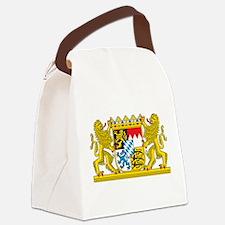 Landeswappen Bayern Canvas Lunch Bag