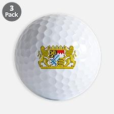 Landeswappen Bayern Golf Ball
