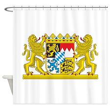 Landeswappen Bayern Shower Curtain