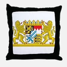 Landeswappen Bayern Throw Pillow