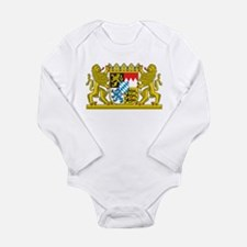 Landeswappen Bayern Long Sleeve Infant Bodysuit