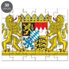 Landeswappen Bayern Puzzle
