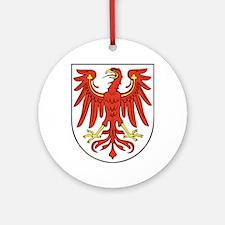 Brandenburg Wappen Ornament (Round)