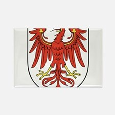 Brandenburg Wappen Rectangle Magnet