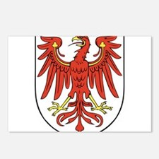 Brandenburg Wappen Postcards (Package of 8)
