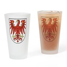 Brandenburg Wappen Drinking Glass