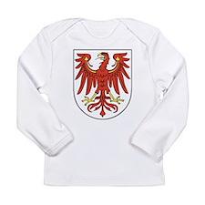 Brandenburg Wappen Long Sleeve Infant T-Shirt