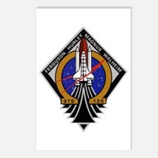 STS 135 Atlantis Postcards (Package of 8)