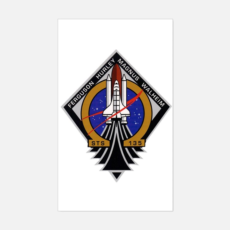 STS 135 Atlantis Decal