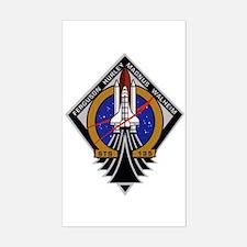 STS 135 Atlantis Sticker (Rectangle)