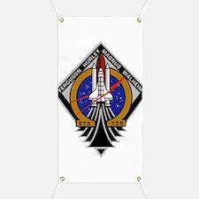 STS 135 Atlantis Banner