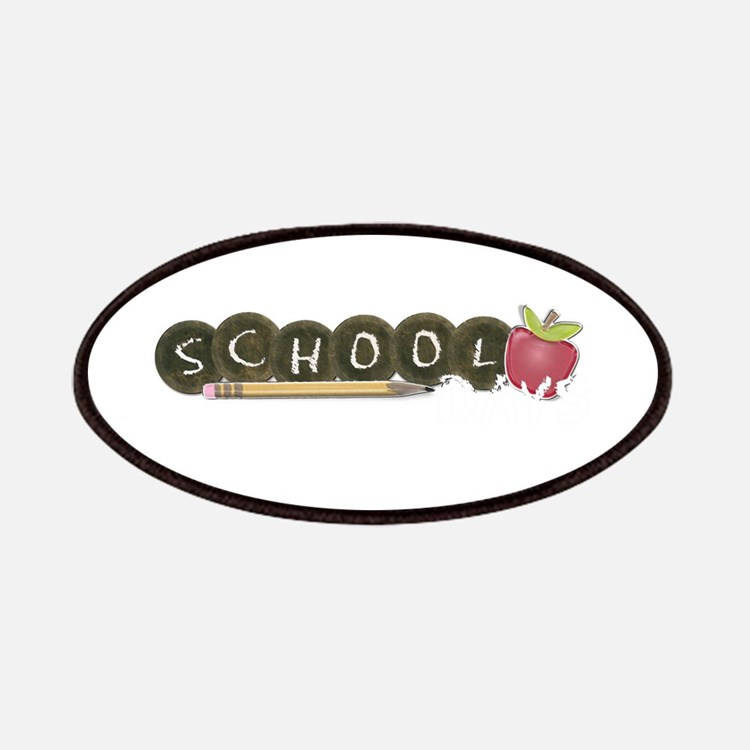 School pencils Patches