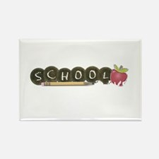 School pencils Rectangle Magnet (10 pack)