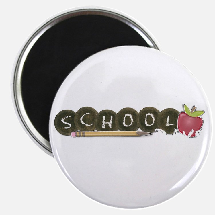 "School pencils 2.25"" Magnet (10 pack)"