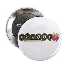 "School pencils 2.25"" Button (10 pack)"