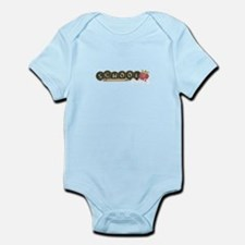School pencils Infant Bodysuit