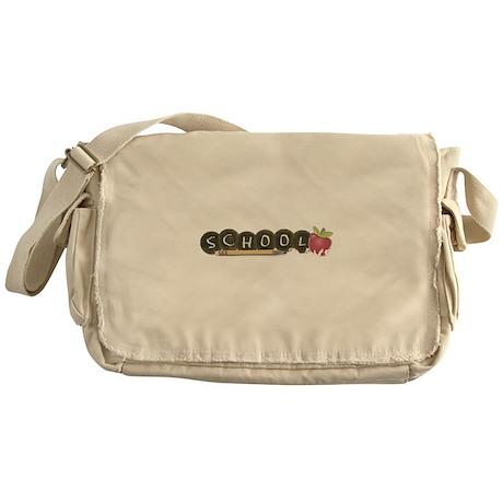School pencils Messenger Bag