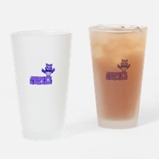 School owl Drinking Glass