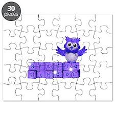 School owl Puzzle