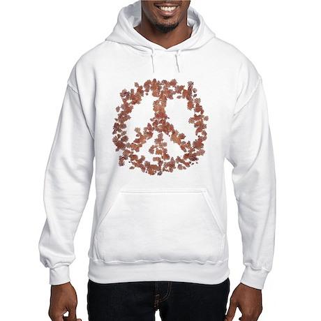 Beloved Flower Peace Hooded Sweatshirt