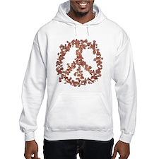 Beloved Flower Peace Hoodie